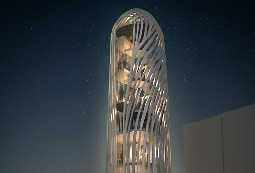 Finger print tower