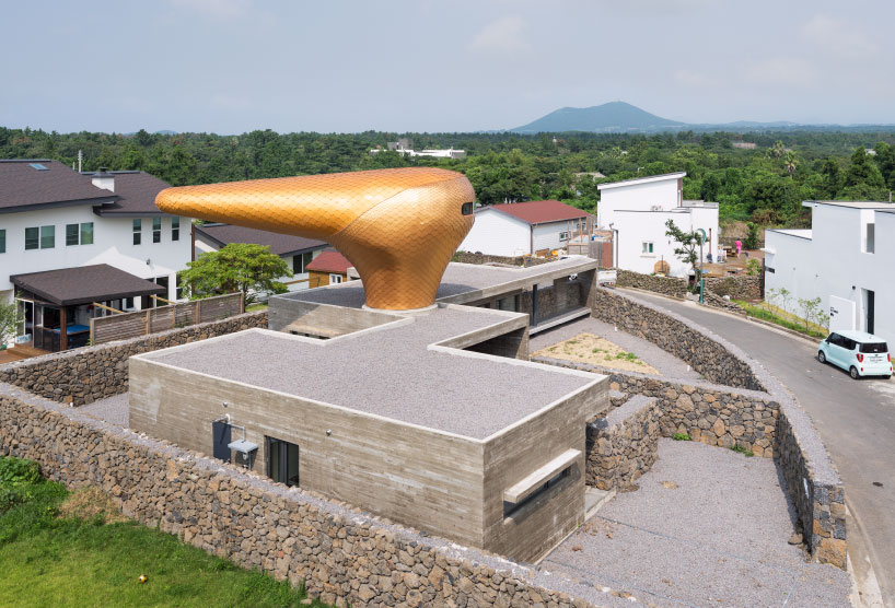 Jeju Wind house